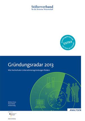 Gründungsradar 2013 Download