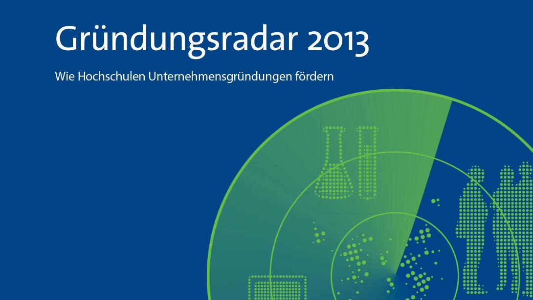 Gründungsradar 2013 erschienen – HdM dreimal vorbildlich