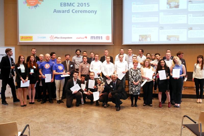 EBMC 2015 Award Ceremony