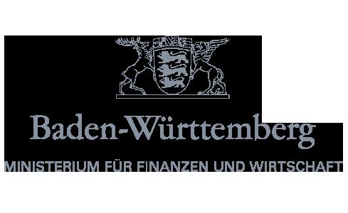 Ministerium für Finanzen und Wirtschaft Baden-Württemberg Logo