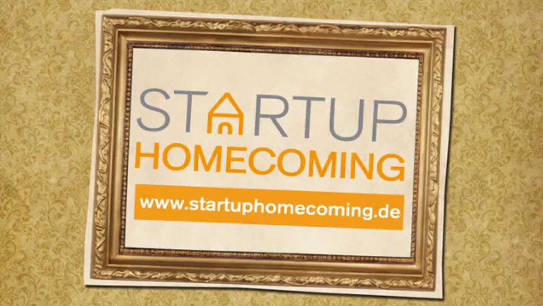 """Frischer Wind in alten Mauern""- Startup Homecoming 2014"