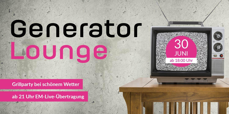 Generator Lounge auf der Media Night