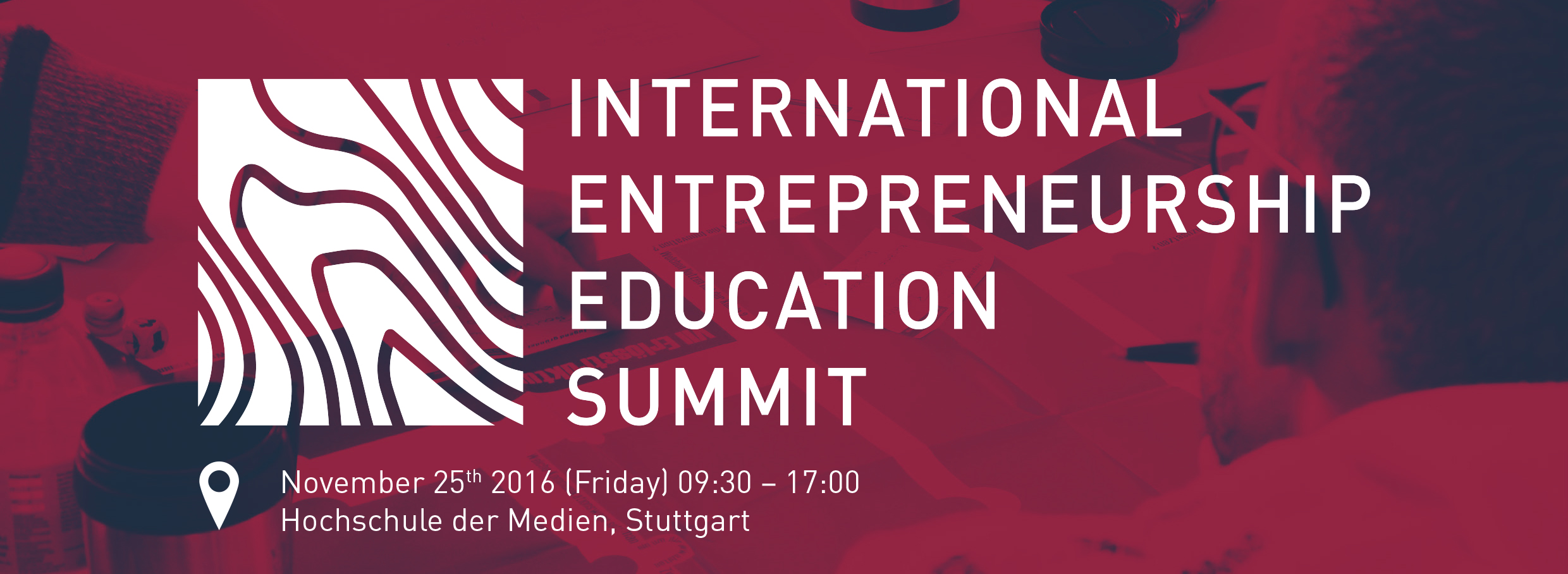 IEES - International Entrepreneurship Education Summit an der Hochschule der Medien Stuttgart