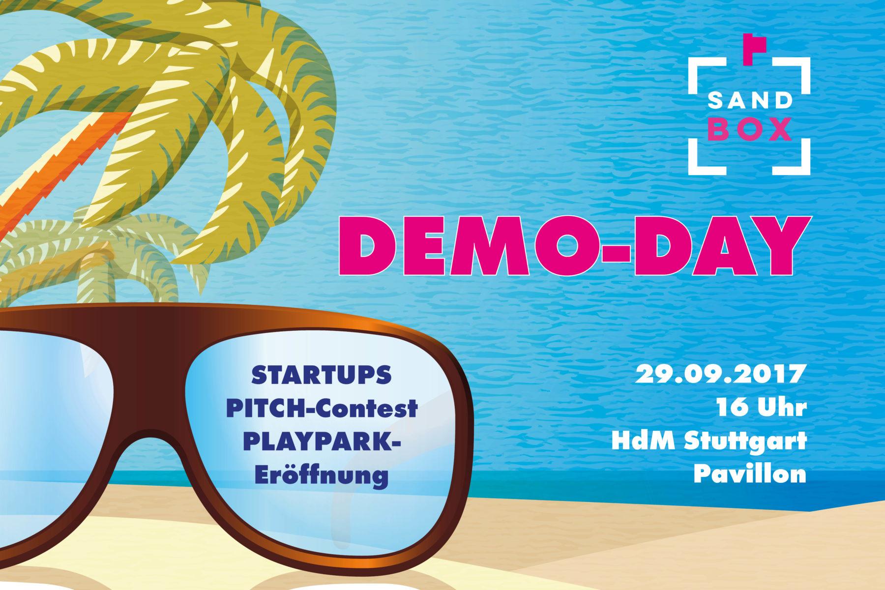 Zehn Startups zeigen's uns: Einladung zum SANDBOX Demo-Day am 29. September 2017