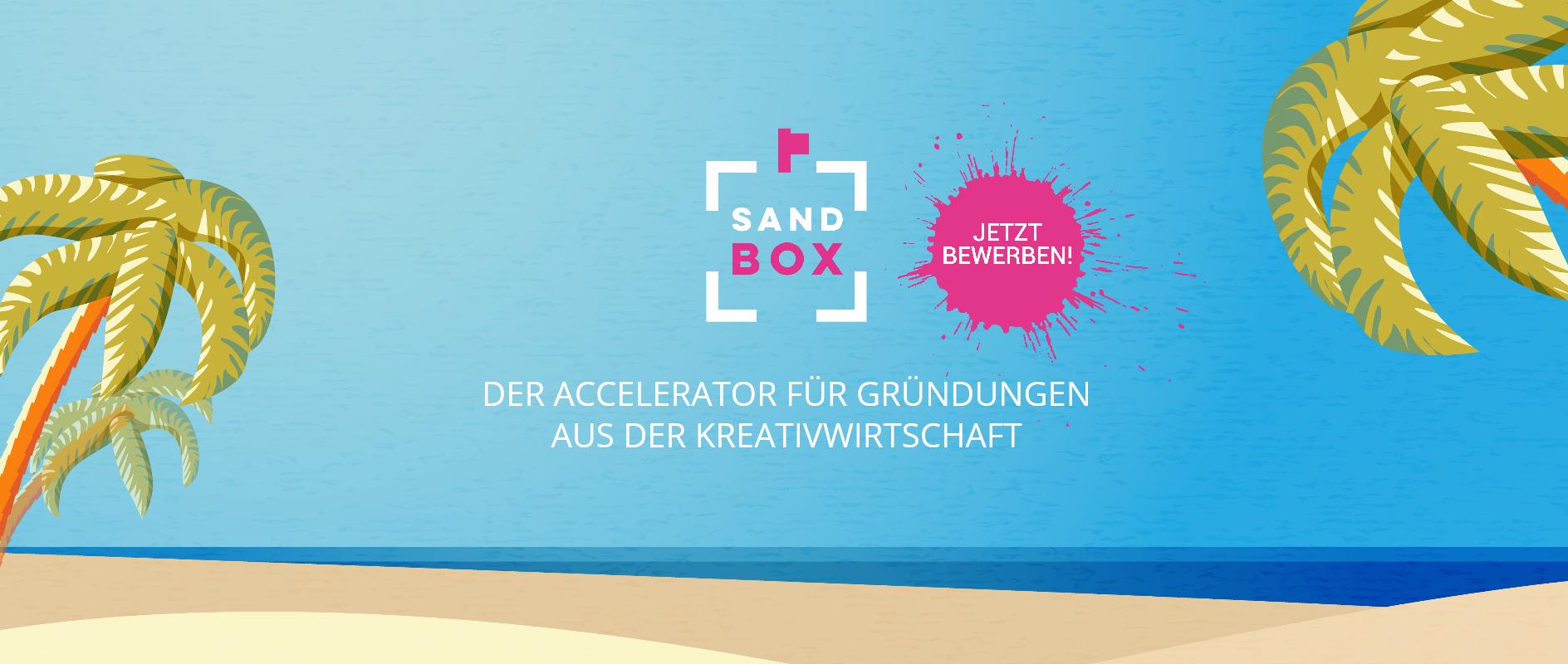 Bewerbungsstart für die nächste Sandbox-Runde
