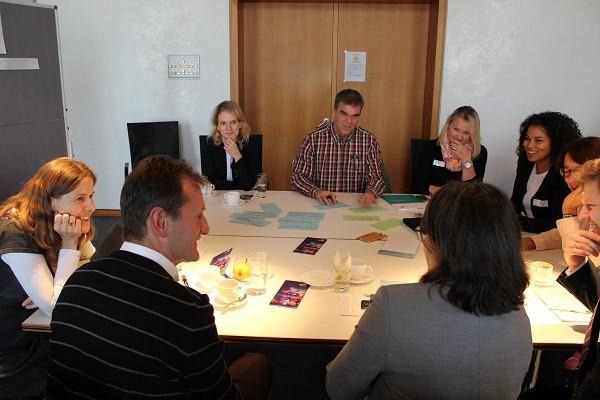Was bringen EU-Projekte? Workshop und World Café im Neuen Schloss