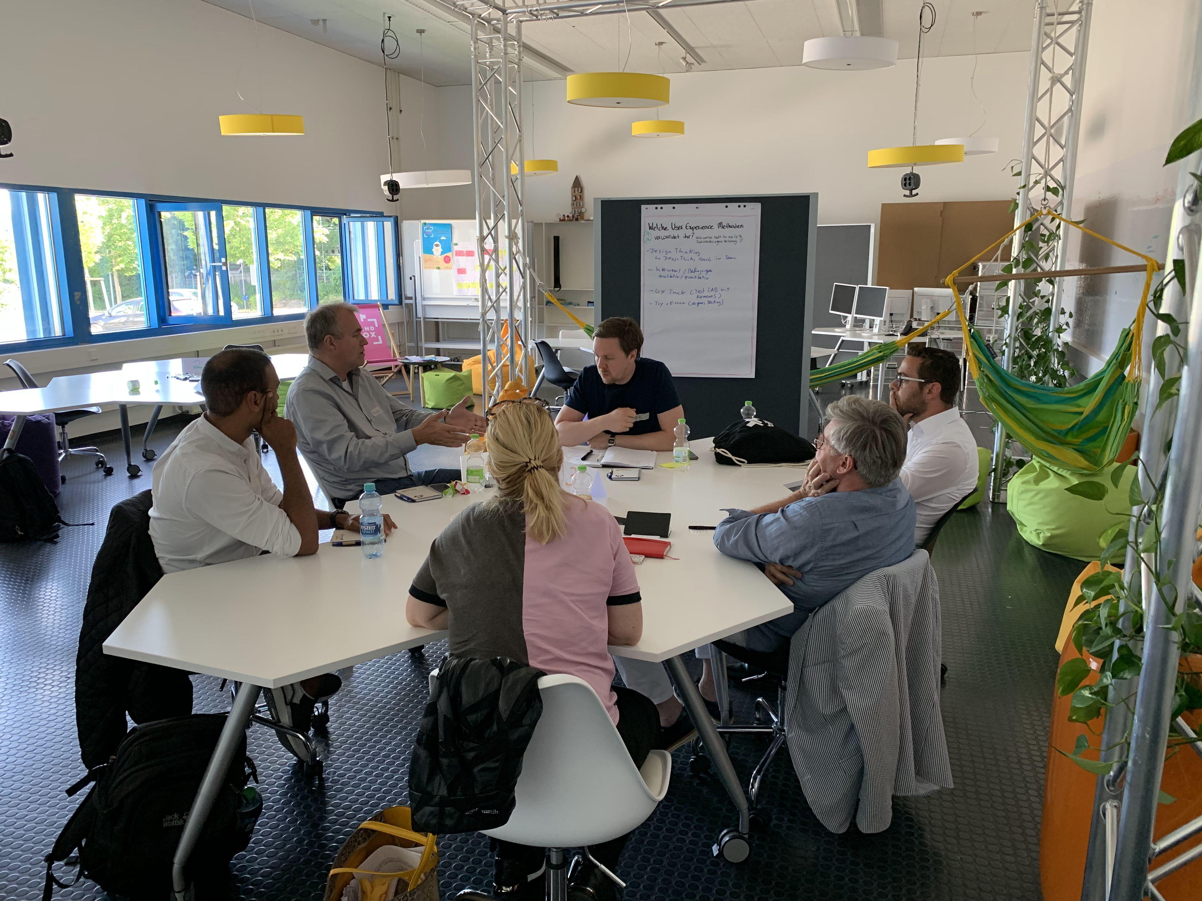 Unterstützung im Bereich Usability und User Experience für Start-ups