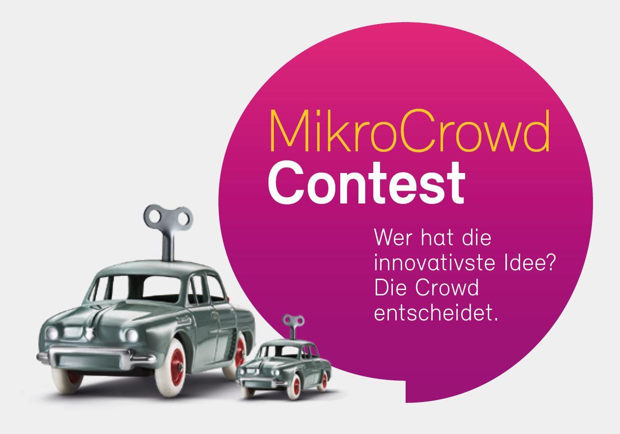 Bewerbungsphase für den MikroCrowd-Contest hat begonnen!