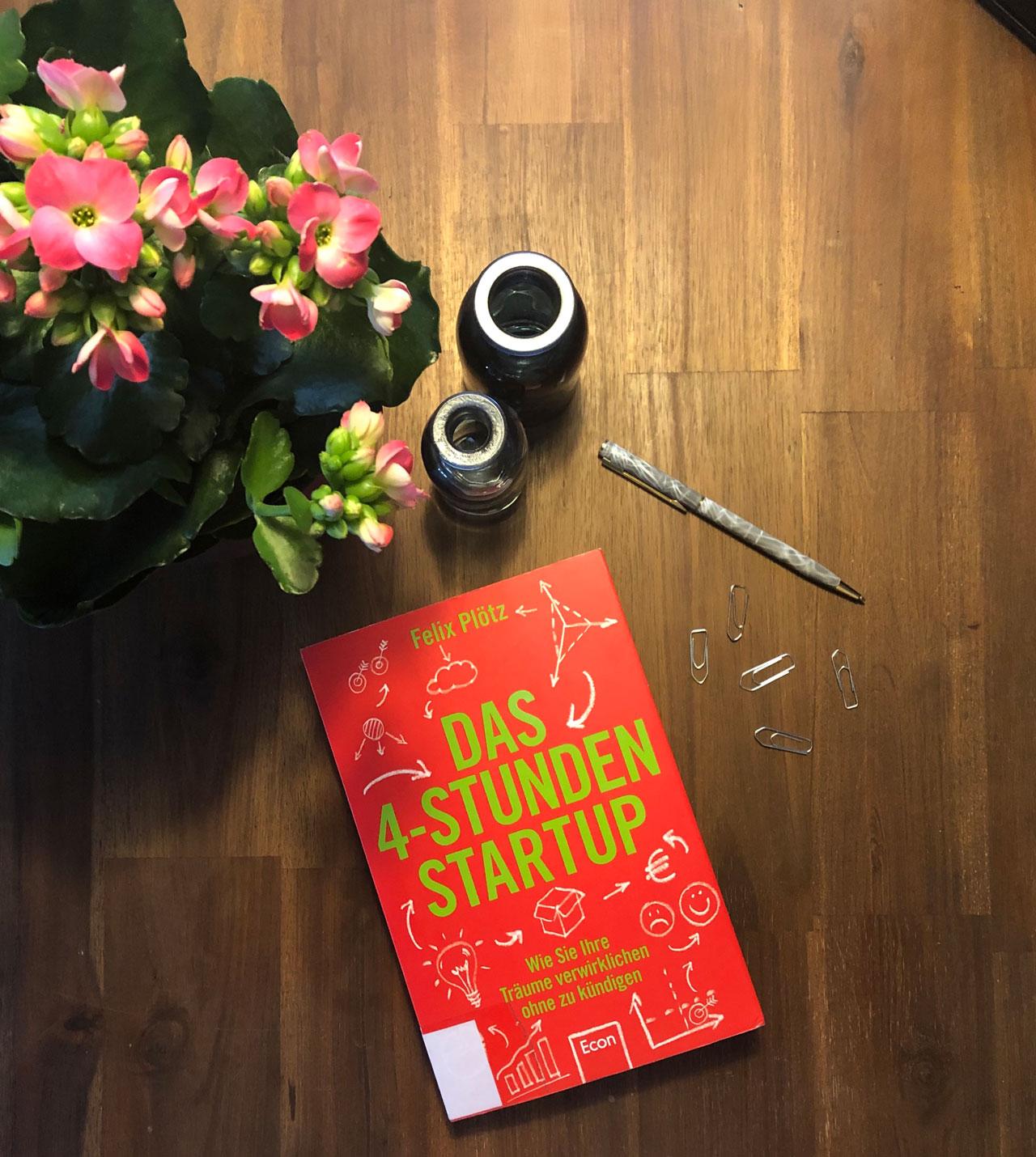 Lesetipp: Das 4-Stunden Startup von Felix Plötz